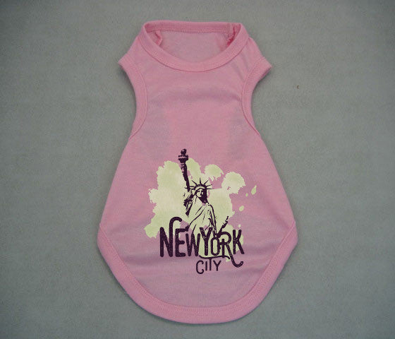 Paint your NYC DOGS' TANK TOP
