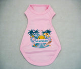Acapulco Coconut Tree DOGS' TANK TOP