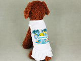 Acapulco Coconut Tree DOGS' SUNDRESS
