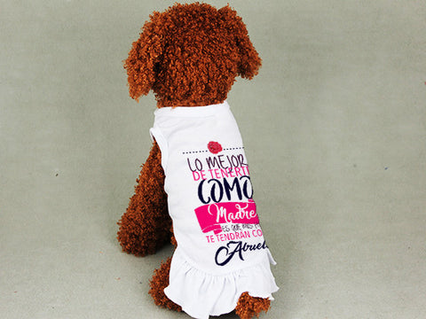 Love Mom DOGS' SUNDRESS