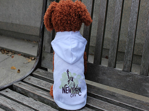 Paint your NYC DOGS' HOODIE T-SHIRT