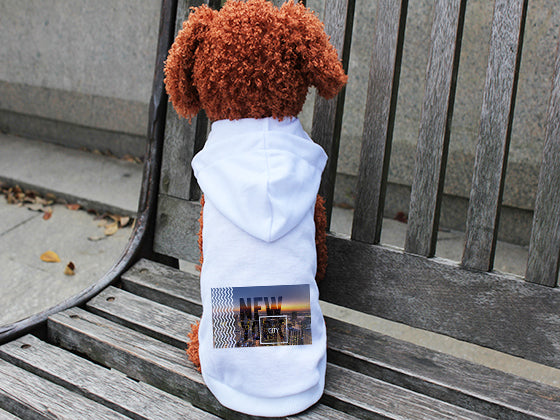 New York Twilight DOGS' HOODIE T-SHIRT