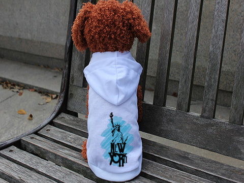 Visiting The Liberty DOGS' HOODIE T-SHIRT