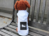 Magnificent Lion DOGS' HOODIE T-SHIRT