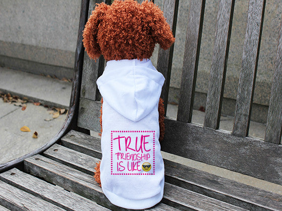 True Friendship DOGS' HOODIE T-SHIRT