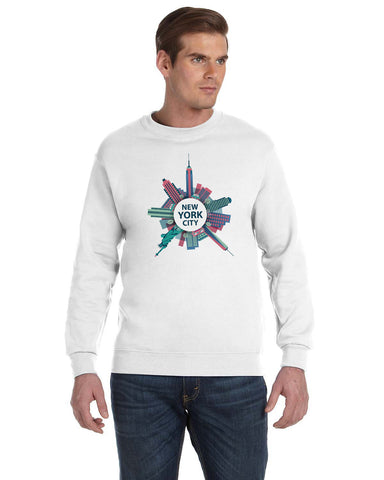 Getting Around in NYC MEN'S FLEECE SWEATSHIRT
