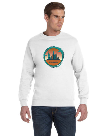 Views in New York MEN'S FLEECE SWEATSHIRT