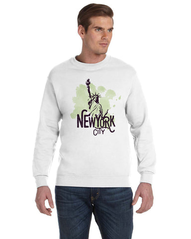 Paint your NYC MEN'S FLEECE SWEATSHIRT