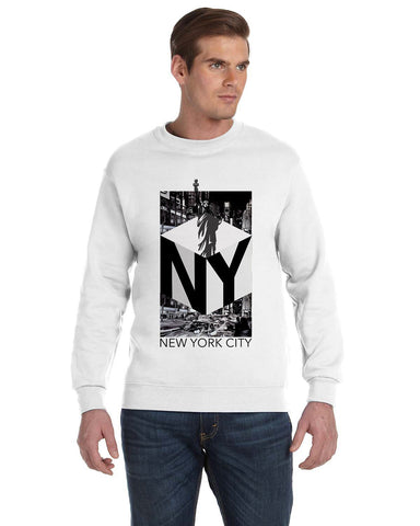 New York NOW MEN'S FLEECE SWEATSHIRT