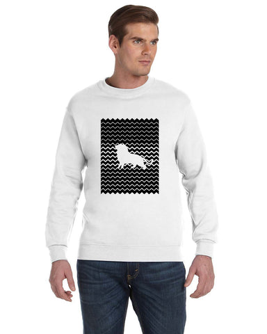 Magnificent Lion MEN'S FLEECE SWEATSHIRT