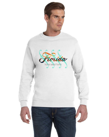 Florida Sweet Home MEN'S FLEECE SWEATSHIRT