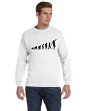 Human revolution MEN'S FLEECE SWEATSHIRT