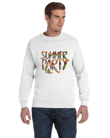 Summer Party MEN'S FLEECE SWEATSHIRT