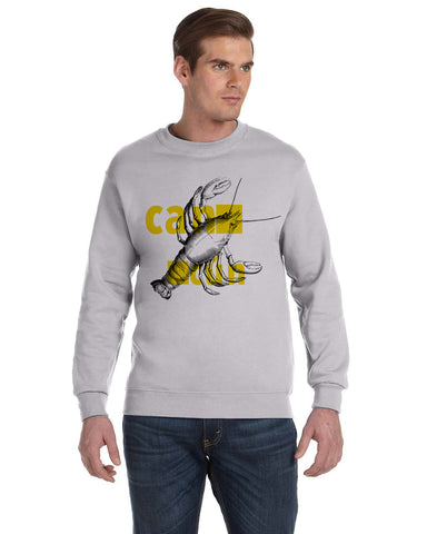 Lobster in Cancun MEN'S FLEECE SWEATSHIRT