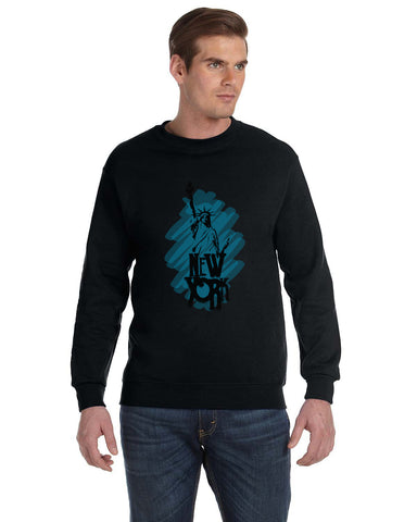 Visiting The Liberty MEN'S FLEECE SWEATSHIRT
