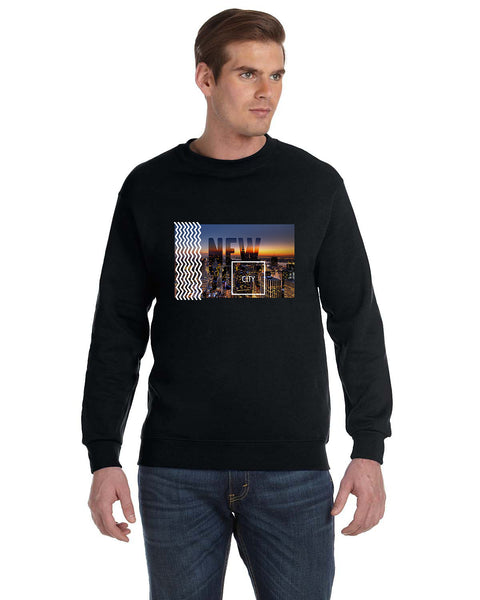 New York Twilight MEN'S FLEECE SWEATSHIRT