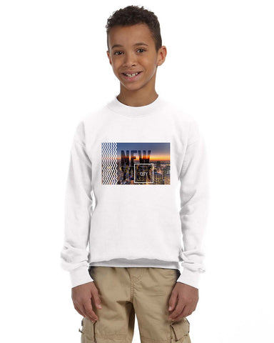 New York Twilight YOUTHS' FLEECE SWEATSHIRT