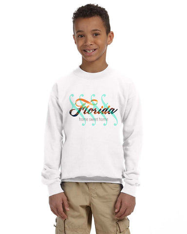 Florida Sweet Home YOUTHS' FLEECE SWEATSHIRT