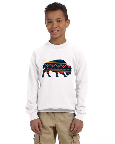 Bufalo YOUTHS' FLEECE SWEATSHIRT
