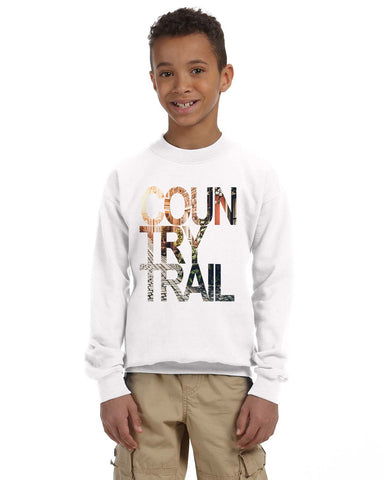 Country Trail YOUTHS' FLEECE SWEATSHIRT