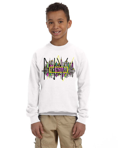 Complicated Time YOUTHS' FLEECE SWEATSHIRT