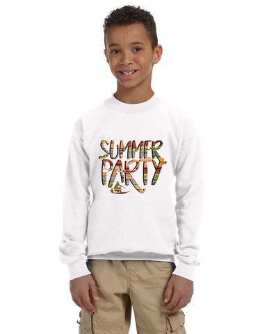 Summer Party YOUTHS' FLEECE SWEATSHIRT
