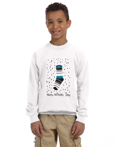 Socks Dad YOUTHS' FLEECE SWEATSHIRT
