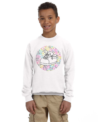 Chiqui Shoes YOUTHS' FLEECE SWEATSHIRT