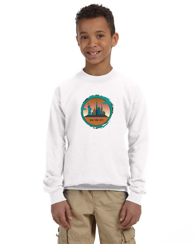 Views in New York YOUTHS' FLEECE SWEATSHIRT