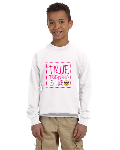 True Friendship YOUTHS' FLEECE SWEATSHIRT