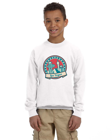 60's Las Vegas YOUTHS' FLEECE SWEATSHIRT