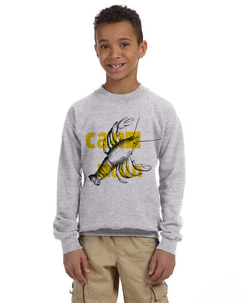 Lobster in Cancun YOUTHS' FLEECE SWEATSHIRT
