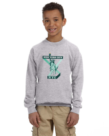 Town of Liberty YOUTHS' FLEECE SWEATSHIRT