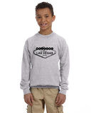 Las Vegas Symbol YOUTHS' FLEECE SWEATSHIRT