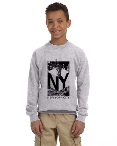 New York NOW YOUTHS' FLEECE SWEATSHIRT