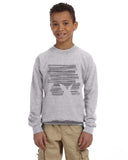 Hidden Rabbit YOUTHS' FLEECE SWEATSHIRT
