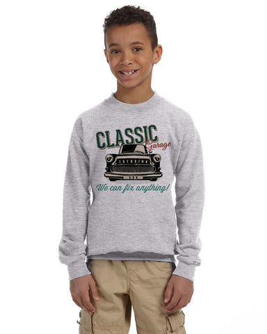 Classic 365 YOUTHS' FLEECE SWEATSHIRT