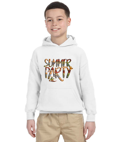 Summer Party YOUTHS' PULLOVER HOOD