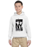 New York NOW YOUTHS' PULLOVER HOOD