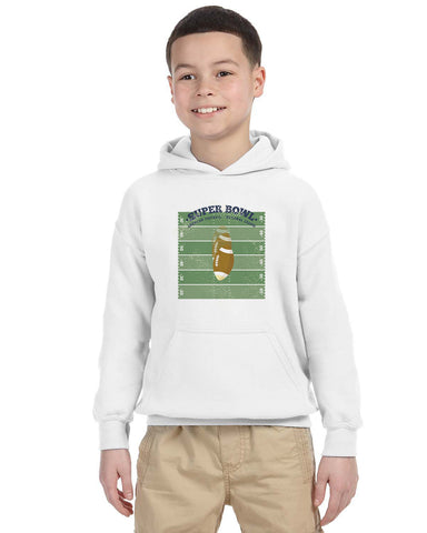 Super Bowl GO YOUTHS' PULLOVER HOOD
