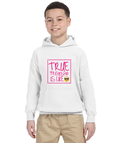 True Friendship YOUTHS' PULLOVER HOOD