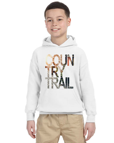 Country Trail YOUTHS' PULLOVER HOOD