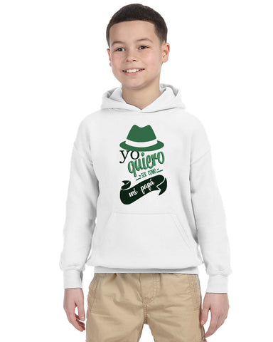 To be a father YOUTHS' PULLOVER HOOD