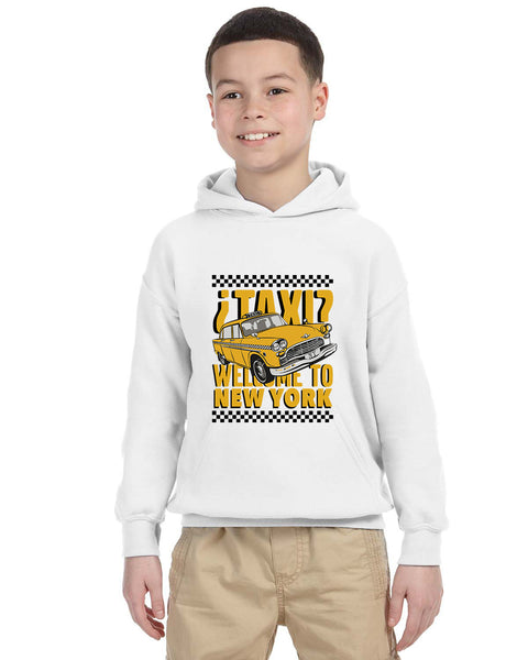 Viva Hey Taxi YOUTHS' PULLOVER HOOD
