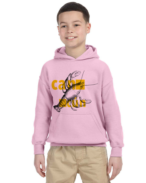 Lobster in Cancun YOUTHS' PULLOVER HOOD