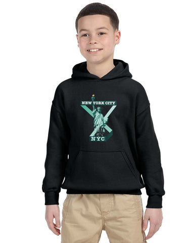Town of Liberty YOUTHS' PULLOVER HOOD
