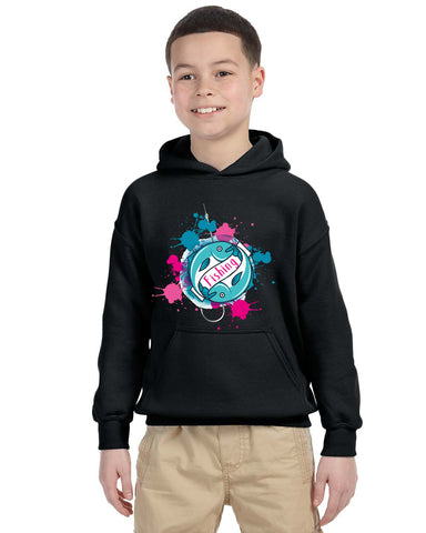 Fishing YOUTHS' PULLOVER HOOD