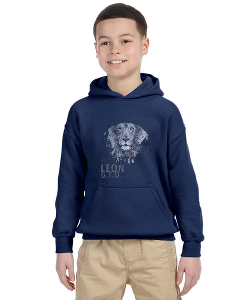 Beautiful leo YOUTHS' PULLOVER HOOD
