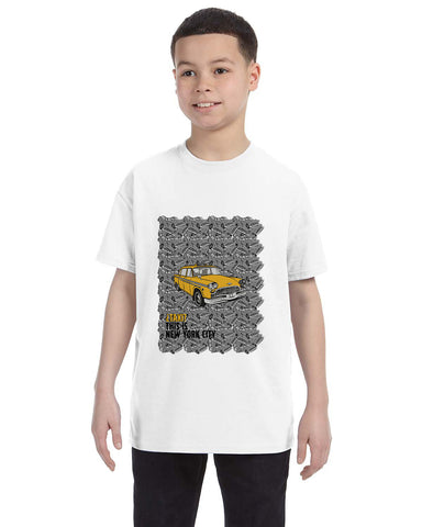 Super Taxi Wey in NY YOUTHS' T-SHIRT