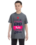 Love Mom YOUTHS' T-SHIRT
